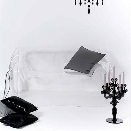 Modernes Design-Sofa aus transparentem Plexiglas von Jolly, hergestellt in Italien