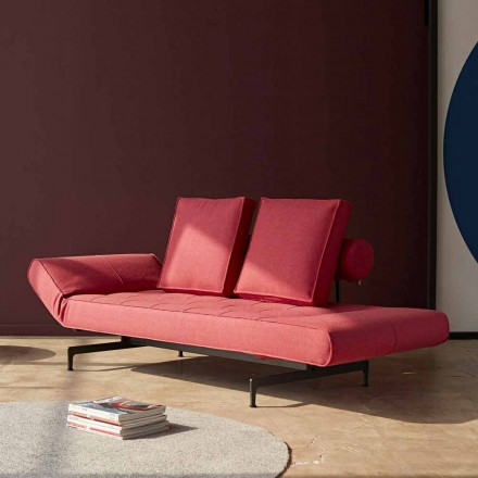 Design Schlafsofa Ghia by Innovation aus Polsterstoff