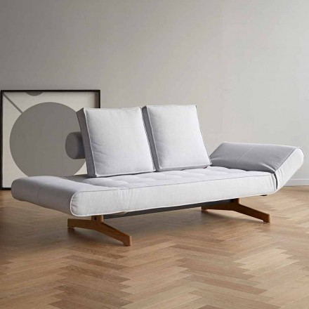 Schlafcouch in modernen Design aus Polsterstoff Ghia by Innovation
