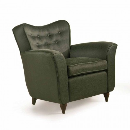 Fratelli Boffi Leonie gepolsterter Sessel mit gepolstertem Rückenlehne