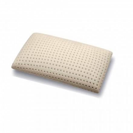 Kopfkissen aus Memory Foam perforiert H 15 cm Made in Italy, 2 Stücke – Tolosa