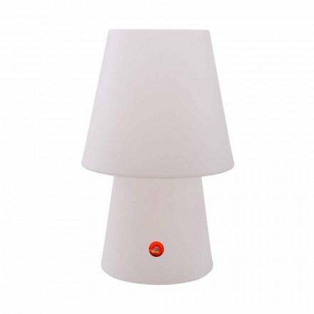 Wiederaufladbare LED-Lampe aus Polyethylen für drinnen oder draußen - Fungostar