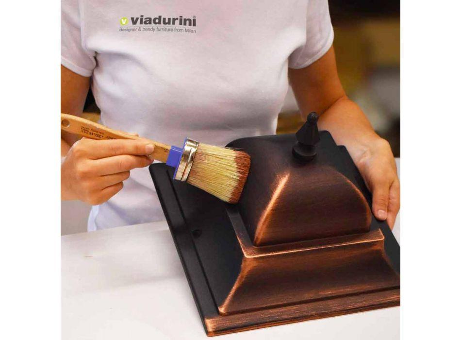 Außenwandleuchte aus Aluminium hergestellt in Italien, Anika