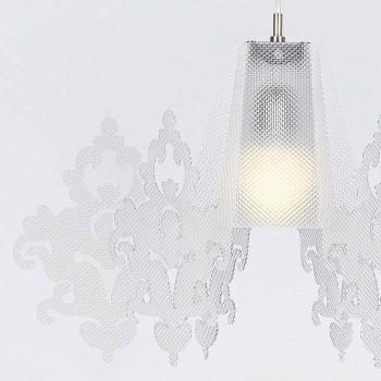 Alessia Methacrylat Pendelleuchte, 70 cm Durchmesser