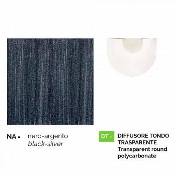 Außenpendelleuchte aus Aluminium, hergestellt in Italien, Anusca