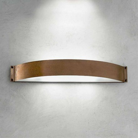 Wandlampe aus Kupfer und Methacrylat Fashion Aldo Bernardi