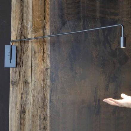 Handgemachte Wandleuchte mit Eisenstruktur Made in Italy - Solana