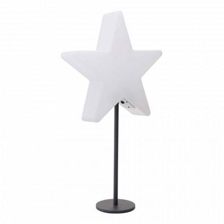 Modernes Design Tischleuchte, Stern mit oder ohne Sockel - Littlestar