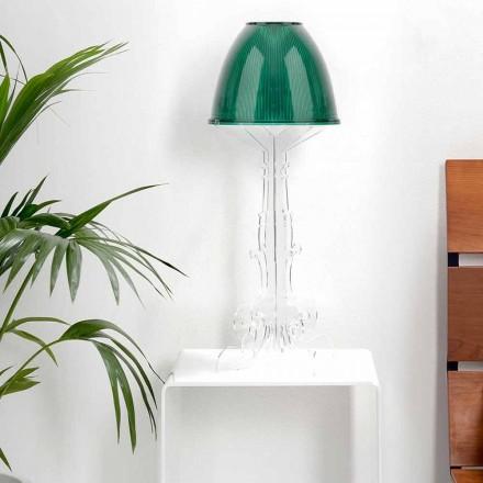 Liberty Design Lese- / Tischleuchte mit Plexiglasfuß, Caneva