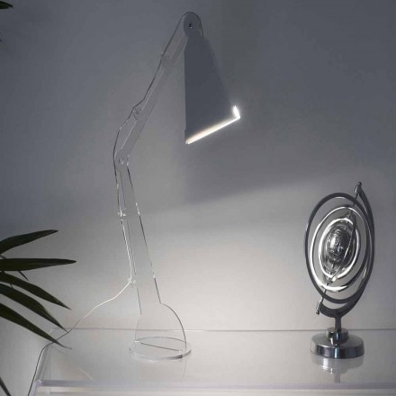 Tecno-Stil Tisch- / Leselampe mit LED-Licht, Flero