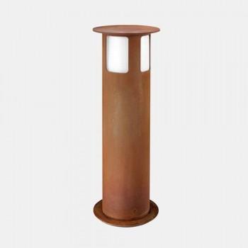 Outdoor-Stehlampe aus Eisen mit Design-Hut - Porto von Il Fanale