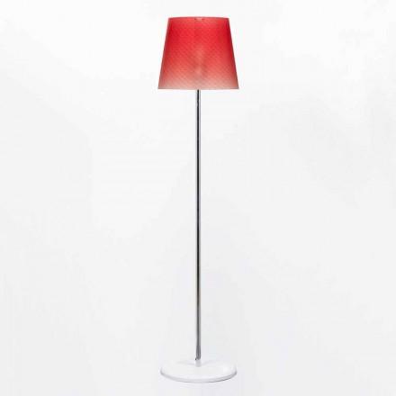Rania Design Polycarbonat Stehleuchte Durchmesser 42 cm