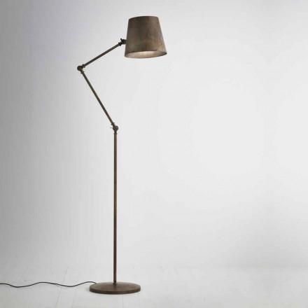 Stehlampe Reporter mit Schwenkarm Il Fanale