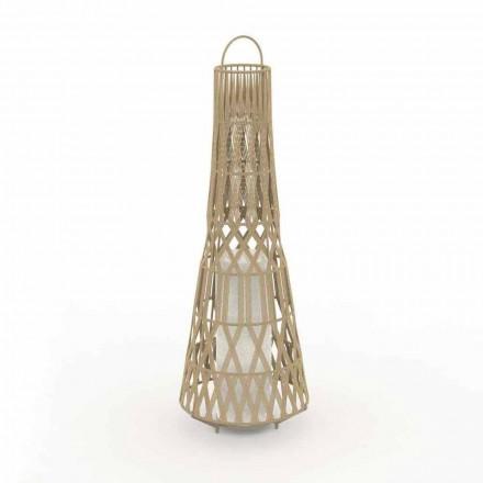 Led Design Garten Stehlampe in Seil, 3 Größen - Tribal von Talenti
