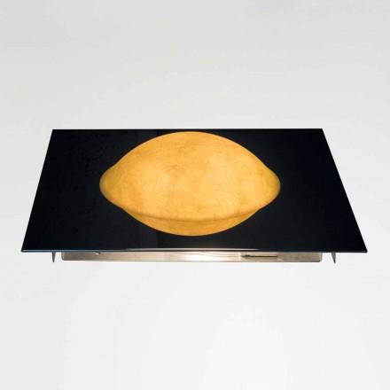 Moderne Wandlampe In-es.artdesign Waschmaschine aus Nebulite