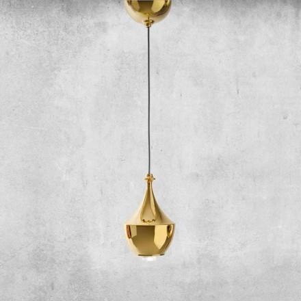 LED Hängeleuchte aus Keramik Made in Italy  - Lustrini L3 Aldo Bernardi