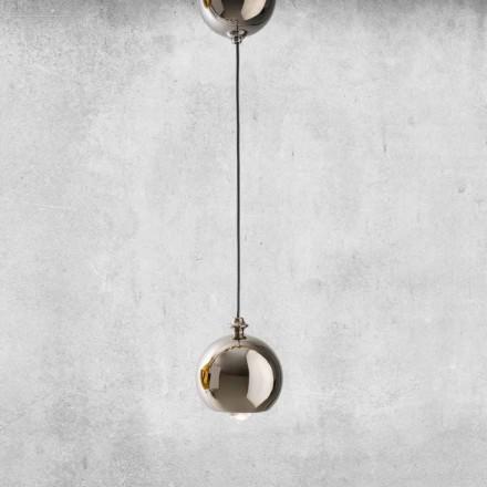 moderne Hängeleuchte aus Keramik Made in Italien– Lustrini L5 Aldo Berrnardi