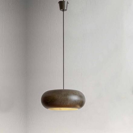 Hängeleuchte aus Stahl Durchmeser 500mm – Materia Aldo Bernardi