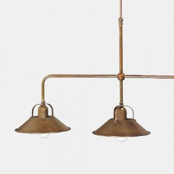 3-flammiger Kronleuchter aus Messing Vintage Design Made in Italy - Cascina von Il Fanale