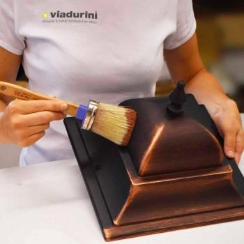 Außenlampe mit drei Lichtern aus Aluminium hergestellt in Italien, Anusca