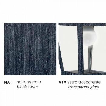 Außenleuchte aus Aluminiumdruckguss, hergestellt in Italien, Kristel