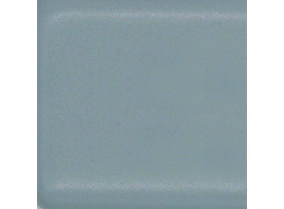 Hochmodernes Aufsatzwaschbecken aus Made in Italy Ceramic Oliena