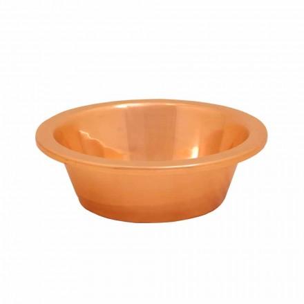 Aufsatzwaschbecken Kuper handbearbeitet Sole