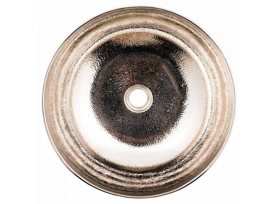 Aufsatzwaschbecken mit Nickel-Kupfer-Oberfläche - Babaevo