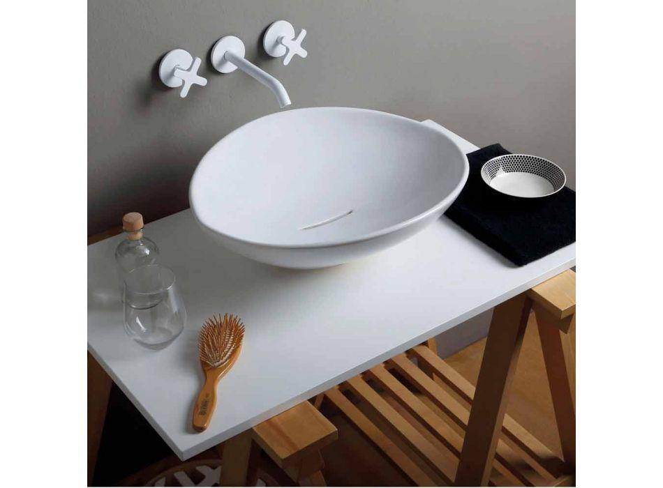 Trendy Design Keramik Waschbecken in Italien hergestellt