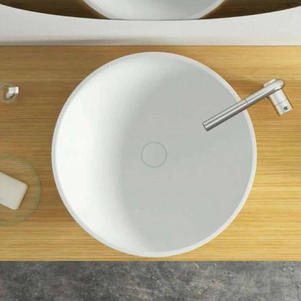 Modernes rundes Aufsatzwaschbecken made in Italy,Donnas