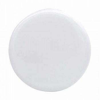 Arbeitsplatte Waschbecken aus weißer oder farbiger Keramik Star 55x35 made in Italy