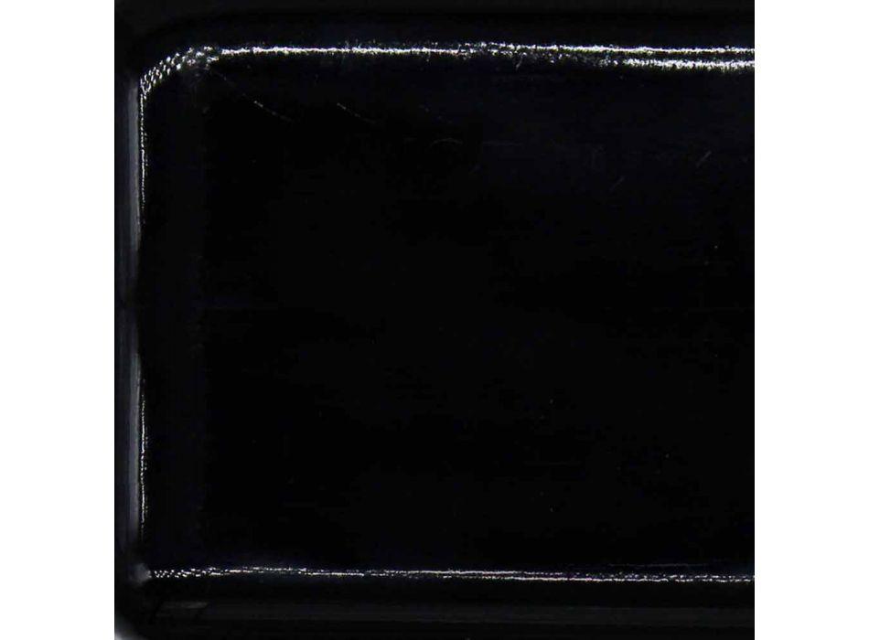 L35 cm Made in Italy Keramik Aufsatzwaschtisch Leivi