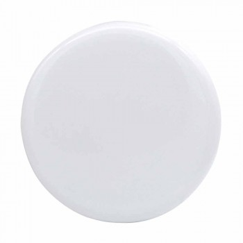 Modernes Waschtisch aus weißer oder farbiger Keramik Sun 85x37 cm