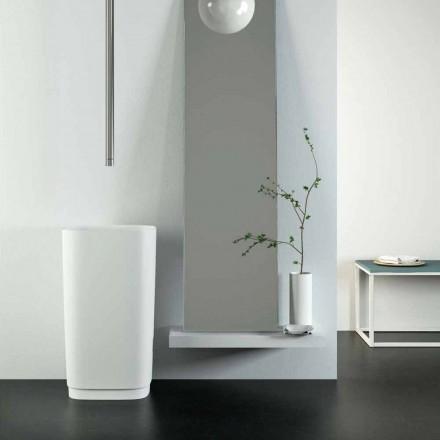 Rundes Waschbecken freestanding mit modernem Design made in Italy, Lallio