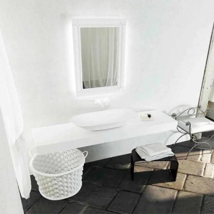 Aufsatzwaschbecken mit modernem Design Taormina Maxi, made in Italy
