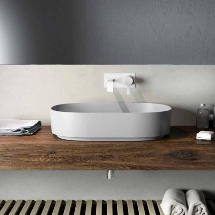 Design Aufsatzwaschbecken made in Italy, Formicola