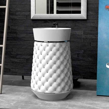 Freistehende Waschbecken modernes Design in Adamantx® Elizabeth
