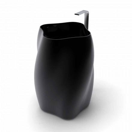 Freistehendes Waschbecken in modernem Design Made in Italy