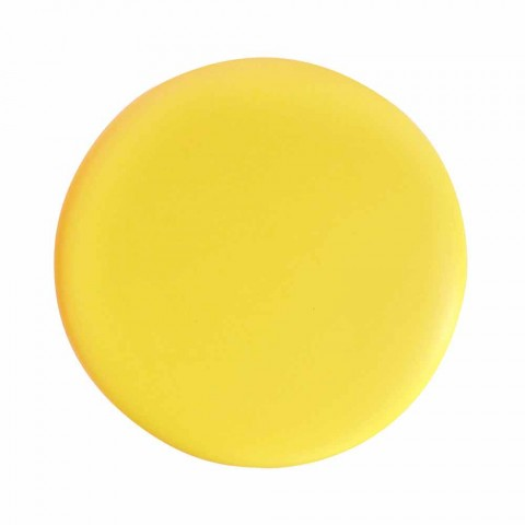 Modernes Design steht aus Keramik Waschbecken Sun 60x37, hergestellt in Italien