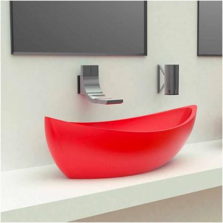 Farbige waschbecken und waschtische f r das bad online for Lavandino design