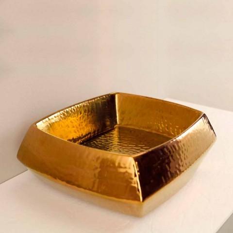 Designer Waschbecken aus Bronze Keramik in Italien Simon gemacht