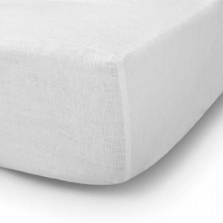 Doppel-, Einzel- oder Doppelbettbettwäsche aus Leinen - Copertino