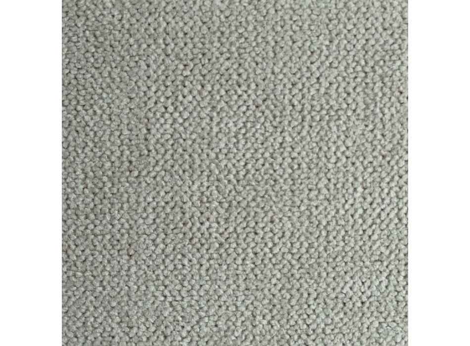 Bett mit Doppelbehälter aus Kunstleder oder Stoff Made in Italy - Puppe