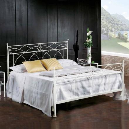 Doppelbett Schmiedeeisen handgefertigt Made in Italy Sydney 160x190