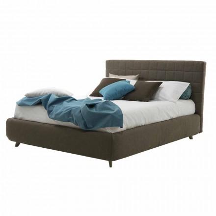 Modernes Design Doppelbett gepolstert mit Box Made in Italy - Baby Walker