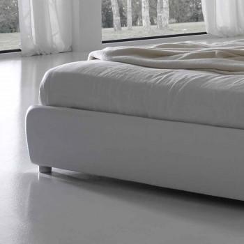 Gestepptes Capitonnè-Doppelbett, klassisches Design, Capri Bolzan