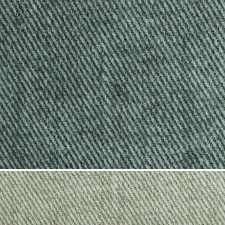 Doppelbett gepolstert in Stoff oder Kunstleder Made in Italy - Elettro