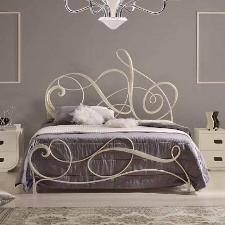 Schmiedeeisen Doppelbett Dekoration 160x190 cm Atena Made in Italy