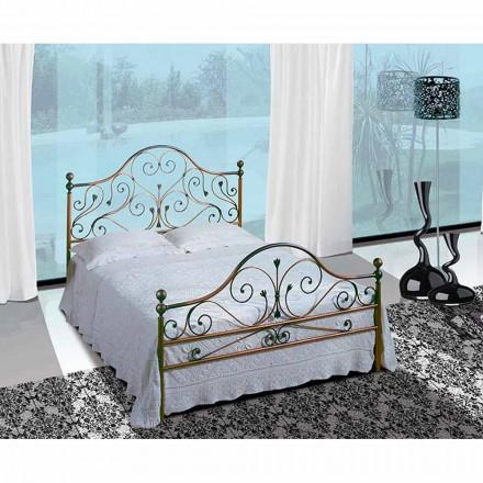 Doppelbett aus Schmiedeeisen Fenice