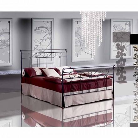 Doppelbett aus Schmiedeeisen Garofano